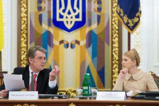 Після виборів Тимошенко пообіцяла заганяти Ющенка по судах