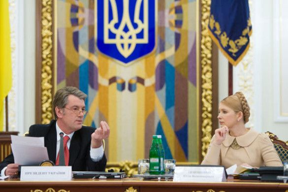 Віктор Ющенко, Юлія Тимошенко