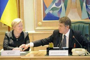 Ющенко представив нову голову свого Секретаріату
