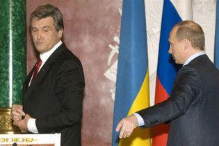 Путін розповів, чим його не влаштовує Ющенко