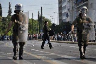У Греції відбулися сутички між поліцією та водіями вантажівок