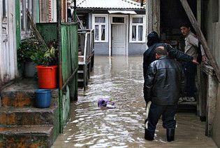 Сильні зливи затопили Грузію. Є жертви