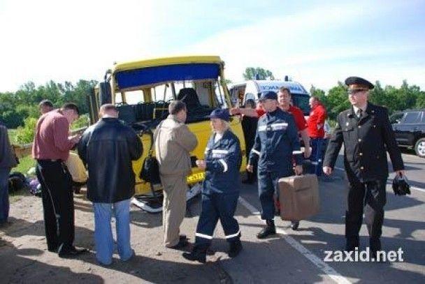 На Львівщині день жалоби за прочанами - жертвами аварії