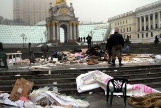 Київські двірники відмовилися прибирати Майдан та Хрещатик