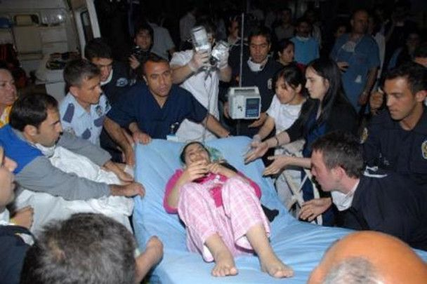 Через сильну пожежу у турецькій лікарні загинули вісім людей