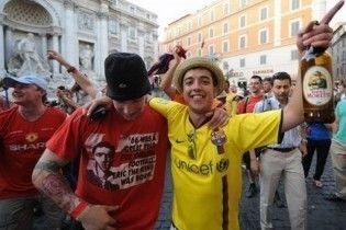"""В Римі поранили вболівальника """"Манчестер Юнайтед"""""""