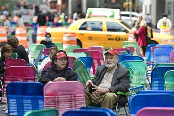 Таймс-Сквер у Нью-Йорку перекрили