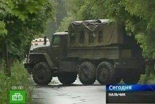 В Нальчику лунають вибухи: йде облава на бойовиків