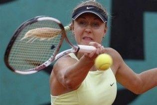 Кутузова завершила виступи на Roland Garros