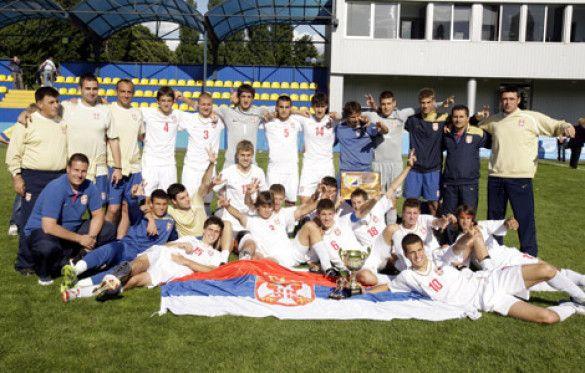 Збірна Сербії - переможці VIII Меморіалу Баннікова