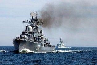 Російський есмінець обстріляв село в Ленінградській області