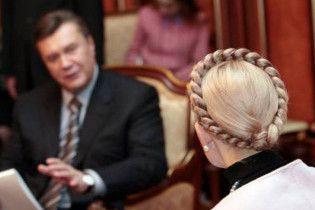 Тимошенко: мафія діє, тримаючи перед собою портрет Януковича