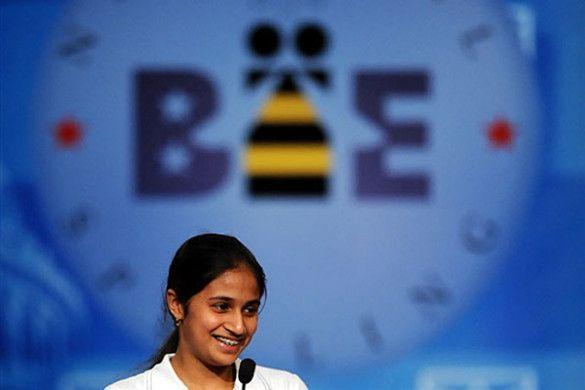 Кавья Шивашанкар, переможниця Spelling Bee