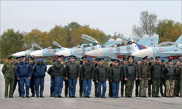Російська авіабаза в Канті