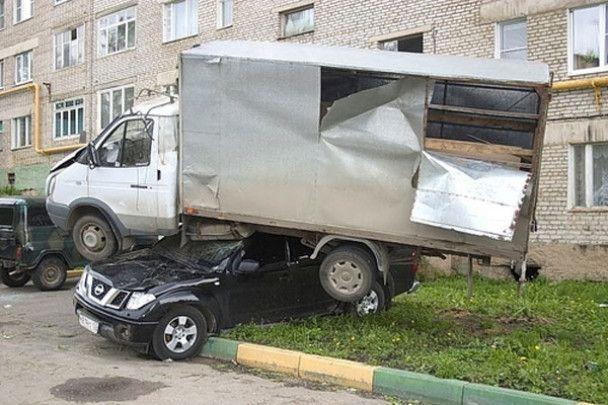 Над Московською областю пронісся смерч