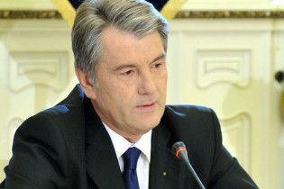 Ющенко доручив Тимошенко ліквідувати наслідки аварії на шахті в Донецьку