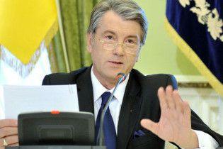 Ющенко не прийде до заблокованого парламенту