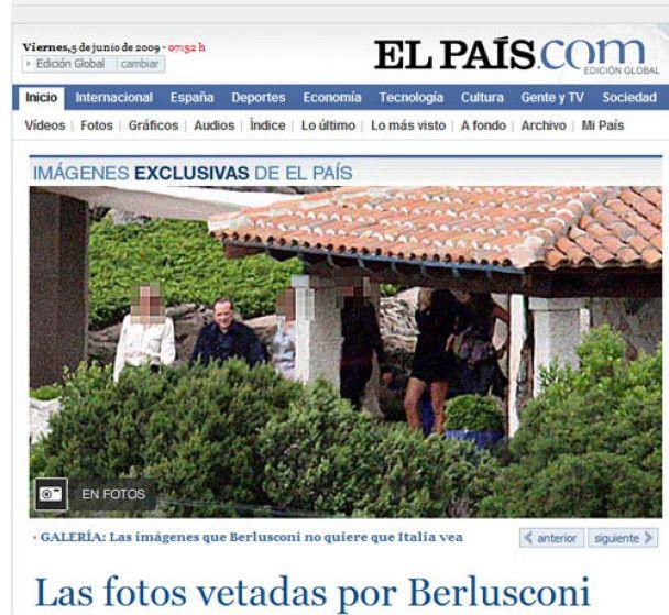 """Опубліковані провокаційні фото з """"інтимних"""" вечірок Берлусконі"""
