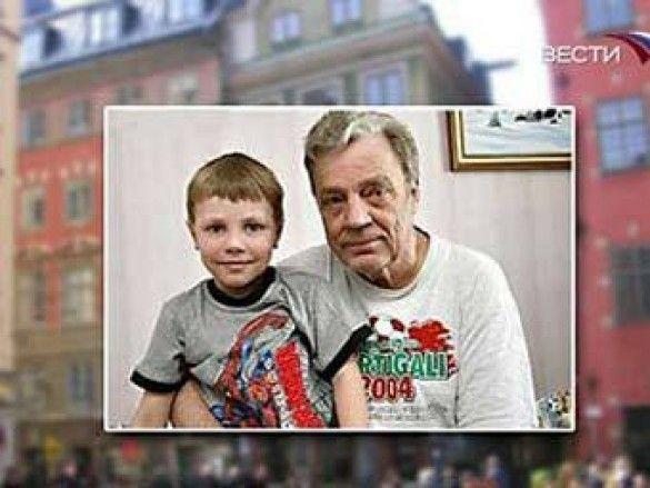 Пааво Салонен з сином