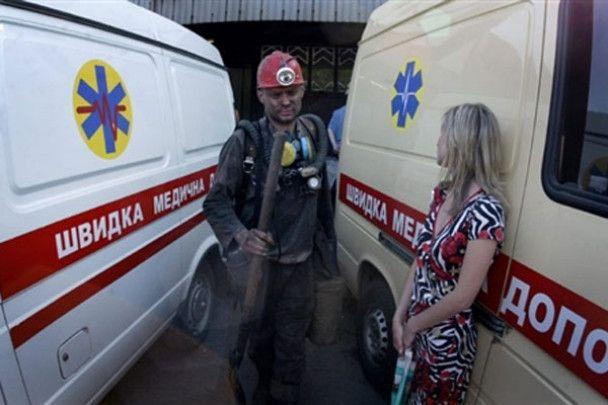 Аварія на найглибшій шахті Донецька