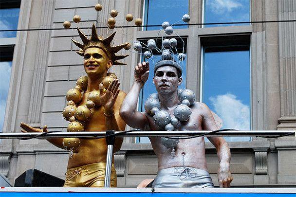 В Європі пройшов парад сексменшин