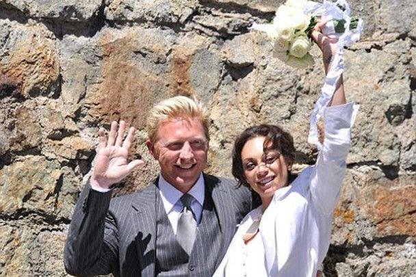 Тенісист Борис Беккер вдруге одружився