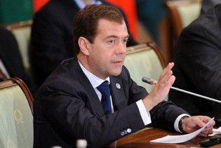 МЗС РФ: Україна не зрозуміла Мєдвєдєва. Він зовсім не агресивний