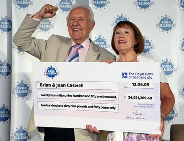 Брайан Кесвелл виграв 25 мілійонів фунтів