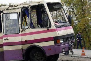 На Чернігівщині перекинувся автобус із дітьми