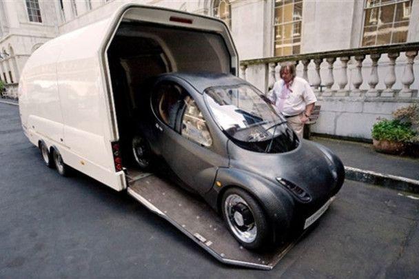Перший водневий автомобіль для міста