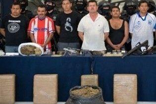 У заморожених мексиканських акулах знайдена тонна кокаїну