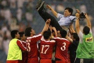 КНДР вийшла на чемпіонат світу з футболу
