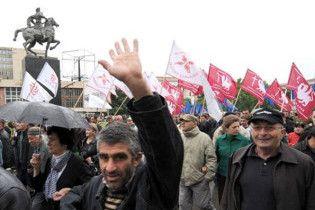 Опозиція Грузії припинила пікет біля резиденції Саакашвілі