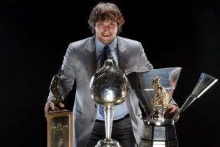 Овечкін другий рік поспіль став найціннішим гравцем НХЛ