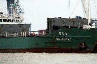 Корейське судно з підозрілим вантажем пливе до М'янми