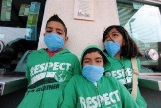 У Франції на грип A/H1N1 захворіли 24 малолітні дитини