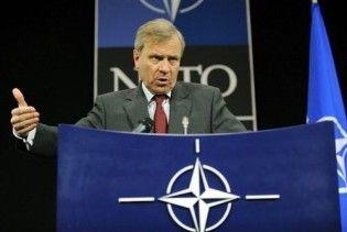Схеффер попрощався зі штаб-квартирою НАТО