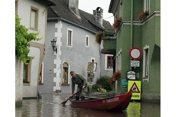 В Європі вирує стихія