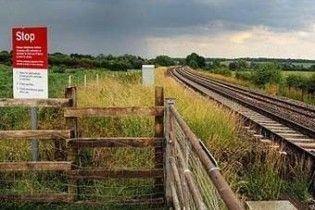 Британець вижив після зіткнення з поїздом