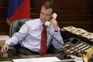 Янукович зателефонував Мєдвєдєву зі словами співчуття