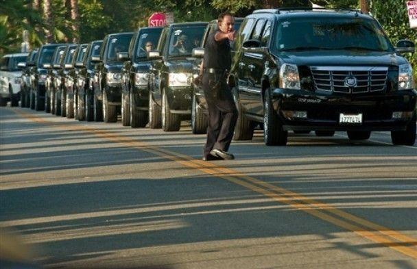 В Лос-Анджелесі почалася церемонія прощання з Майклом Джексоном