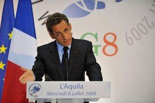 Саркозі закликав до якнайшвидшого розширення G8 до 14 держав