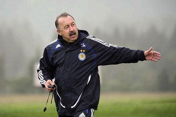 Валерій Газзаєв на тренуванні
