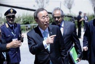 """Генсек ООН різко розкритикував лідерів """"Великої вісімки"""""""