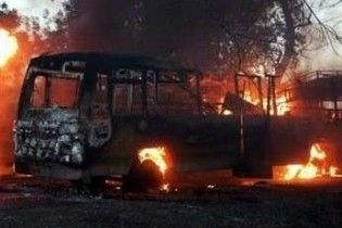 У Фінляндії згорів автобус російських туристів