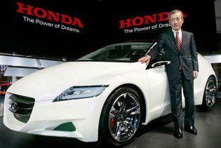 Honda запустить у виробництво гібридне спортивне купе