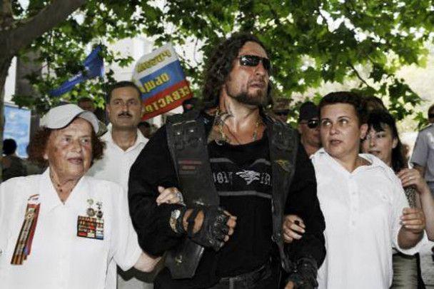 Міжнародне байк-шоу в Севастополі