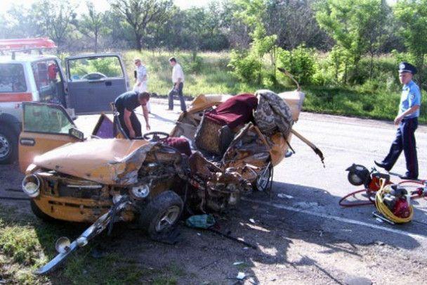 Масштабне ДТП у Криму: постраждало більше 20 людей