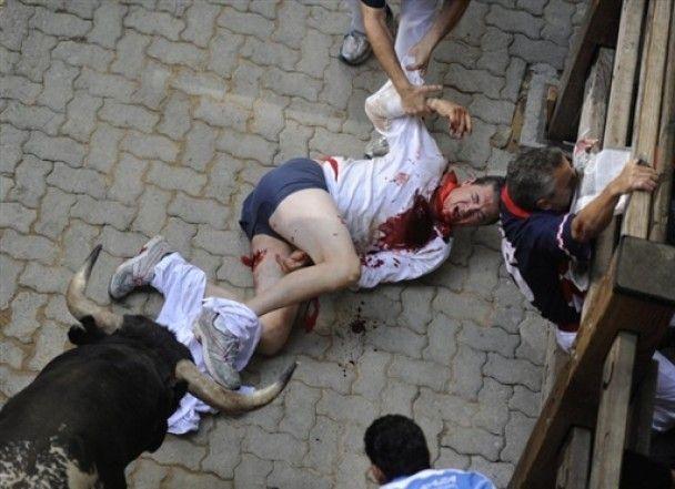 Під час розваг з биками в Іспанії скалічилися близько 450 людей