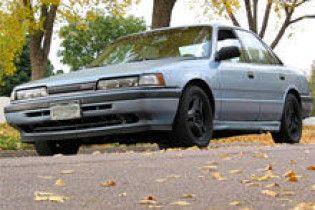 Поліцейського підвезли на Mazda, викраденій в нього 20 років тому